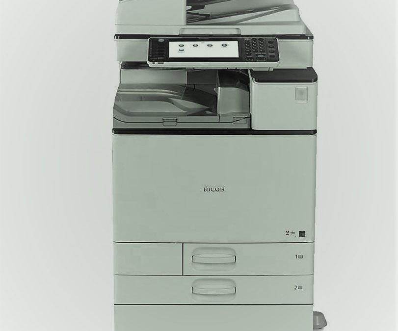 How does the modern photocopier make copies of your documents?